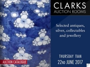 Clarks Auction Rooms Catalogue Cover 22 June 2017
