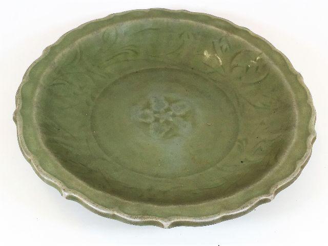 Chinese Longquan celadon bowl