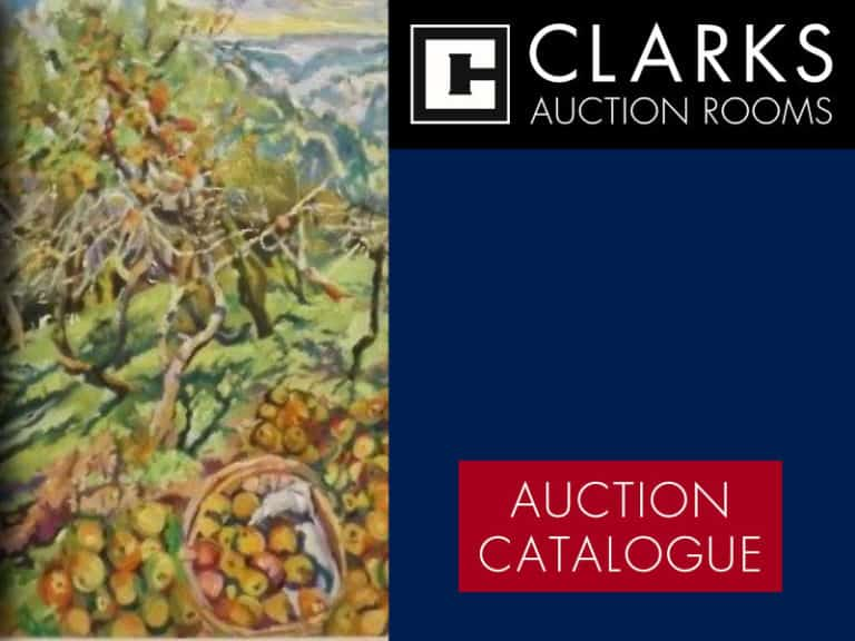 Clarks Auction Rooms Catalogue Cover 26th March 2018