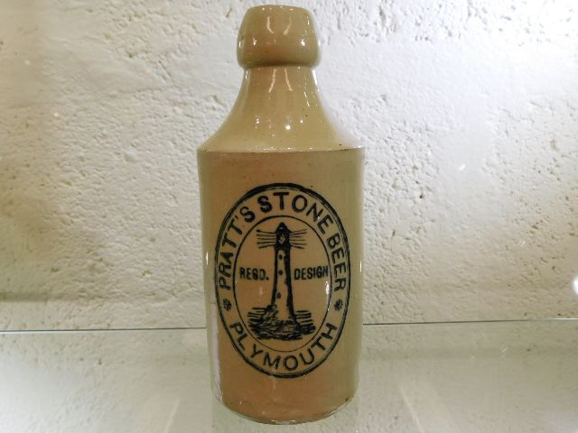 Plymouth stoneware bottle SOLD £350!