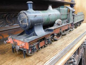 Engineers model train requiring TLC sells for £1500