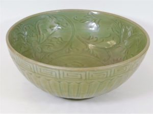 Ming period celadon bowl sold £8000