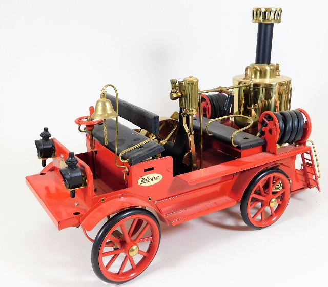 A Wilesco steam powered fire engine £60-80