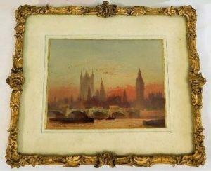 Three Frederick Goff miniature watercolours sold £1800