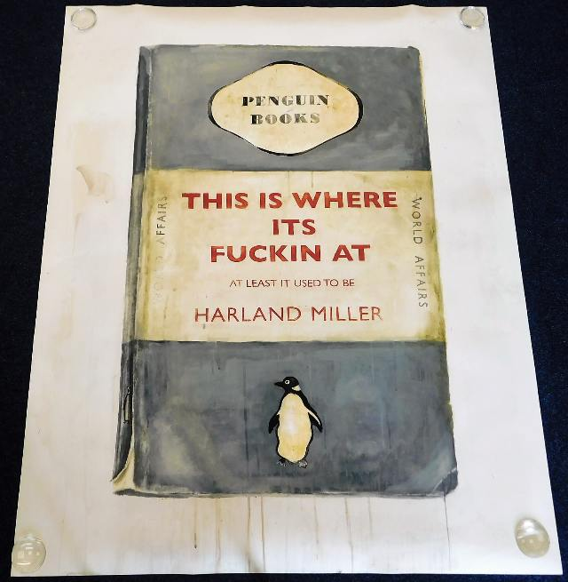 Harland Miller unsigned print SOLD £19500