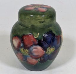 Small Moorcroft jar & cover £190
