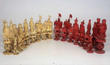 A Chinese chess set a/f £500