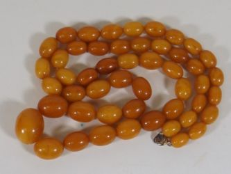 Amber beads £1100