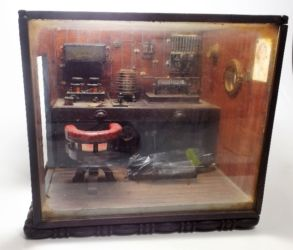 1930's model of Titanic radio room £200
