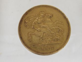 Victorian gold coin £1000