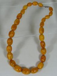64g 19thC. Amber beads £2100