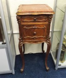 A small French bedside cabinet £160