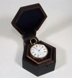 A Gents gold pocket watch £840