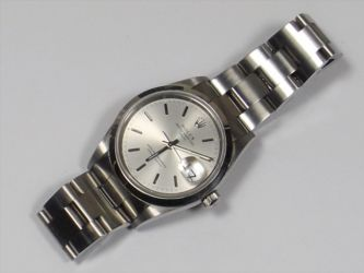 A Gents Rolex Oyster Perpetual Date £1700