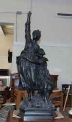 A 19thC. bronze figure £1050