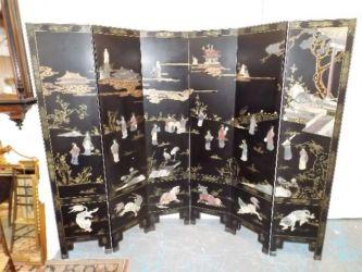Chinese 1920's screen £680