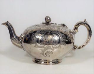 A Victorian silver teapot £560