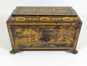 Regency tea caddy £380