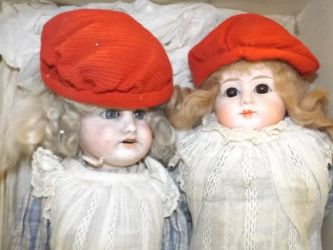 Two vintage dolls £210