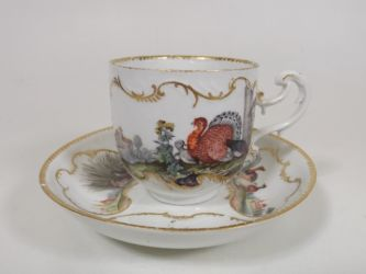 Meissen cup & saucer £220