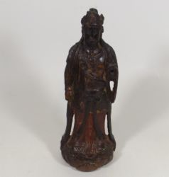 A 17thC. carved Chinese figure £1700