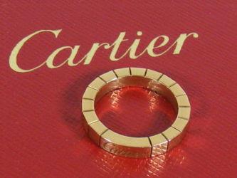 A Cartier Lanieres ring £460