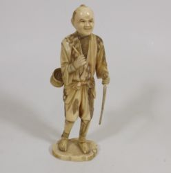 Small ivory figure £250
