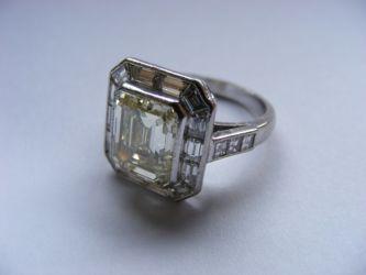 Platinum & diamond ring £17000