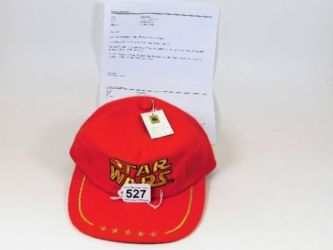 1977 Star Wars cap sold £600