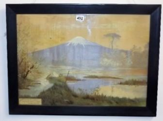 Japanese silkwork picture sold £580