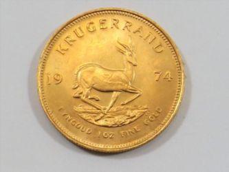 Krugerrand coin sold £880