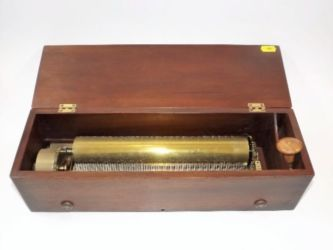 Restored Nicole Freres music box sold £440