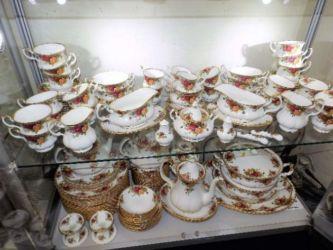 Royal Albert china sold £300