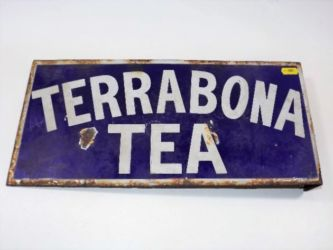 Small enamel sign sold £140