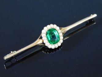 Tourmaline brooch sold £350