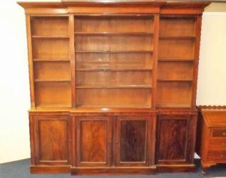 Victorian mahogany bookcase af £1000